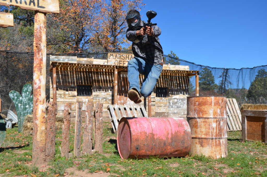 Paintball And Laser Tag The Majestic Dude Ranch