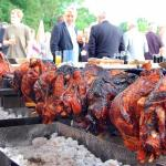catering, pig